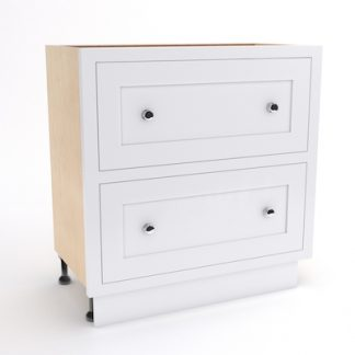 2 DRAWER PAN DRAWER BASE UNIT